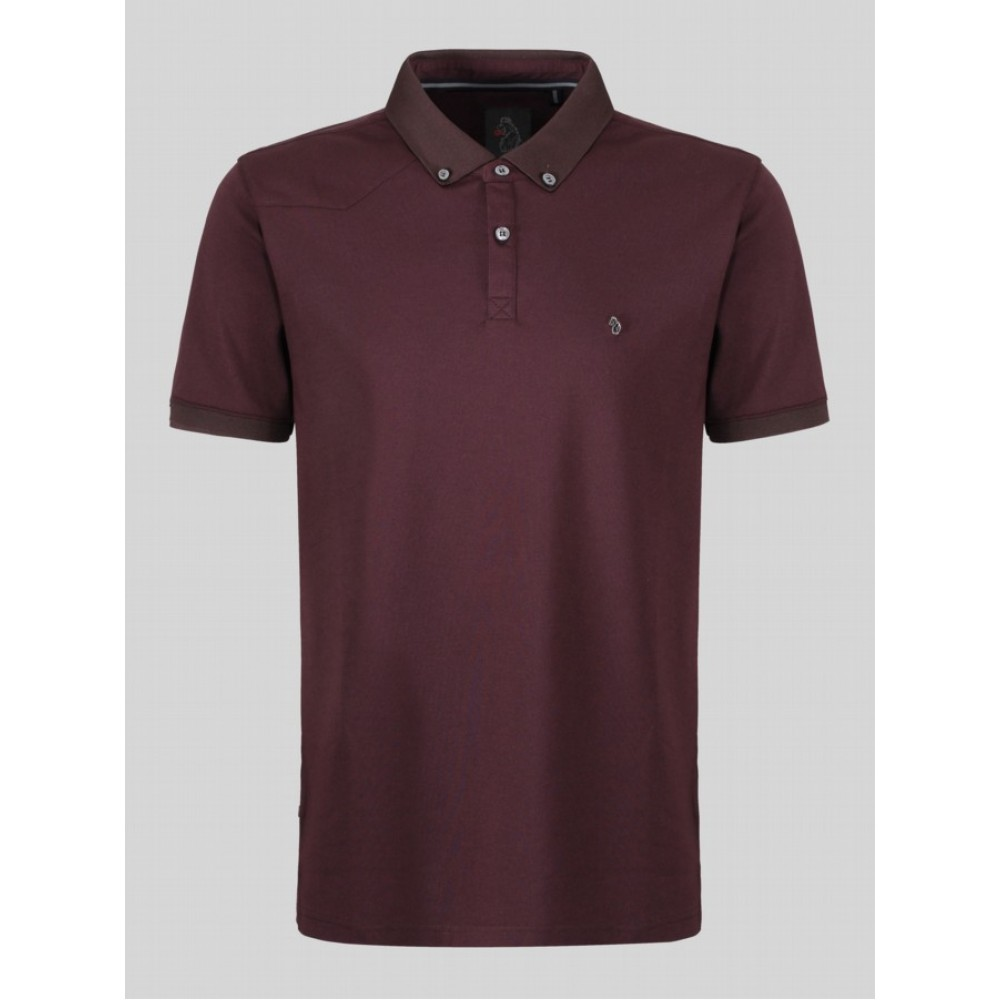 Luke 1977 Billiam Dk Wine Polo Shirt