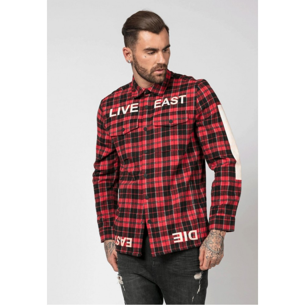 Religion Live East Black & Red Shirt