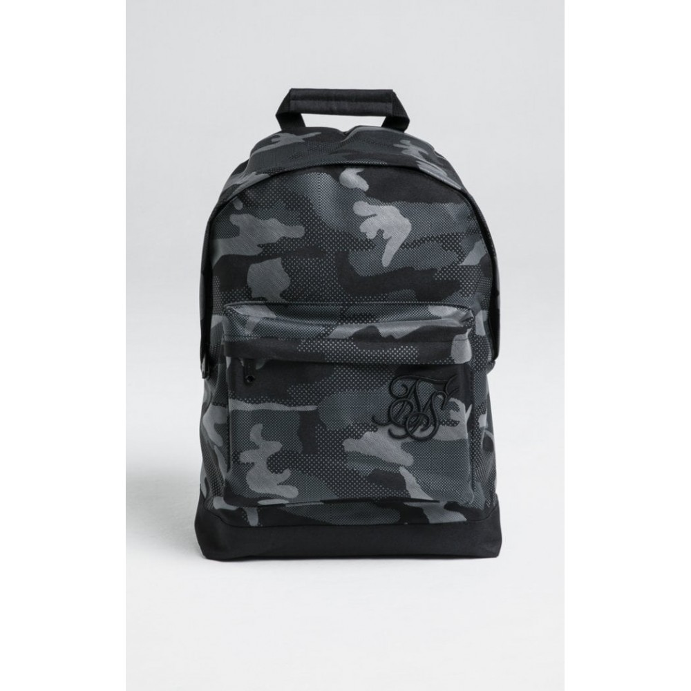 SikSilk Pouch Backpack – Reflective Black Camo