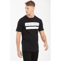 Jameson Carter Paint Stripe T-Shirt - Black