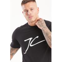 Jameson Carter Large JC T-Shirt - Black