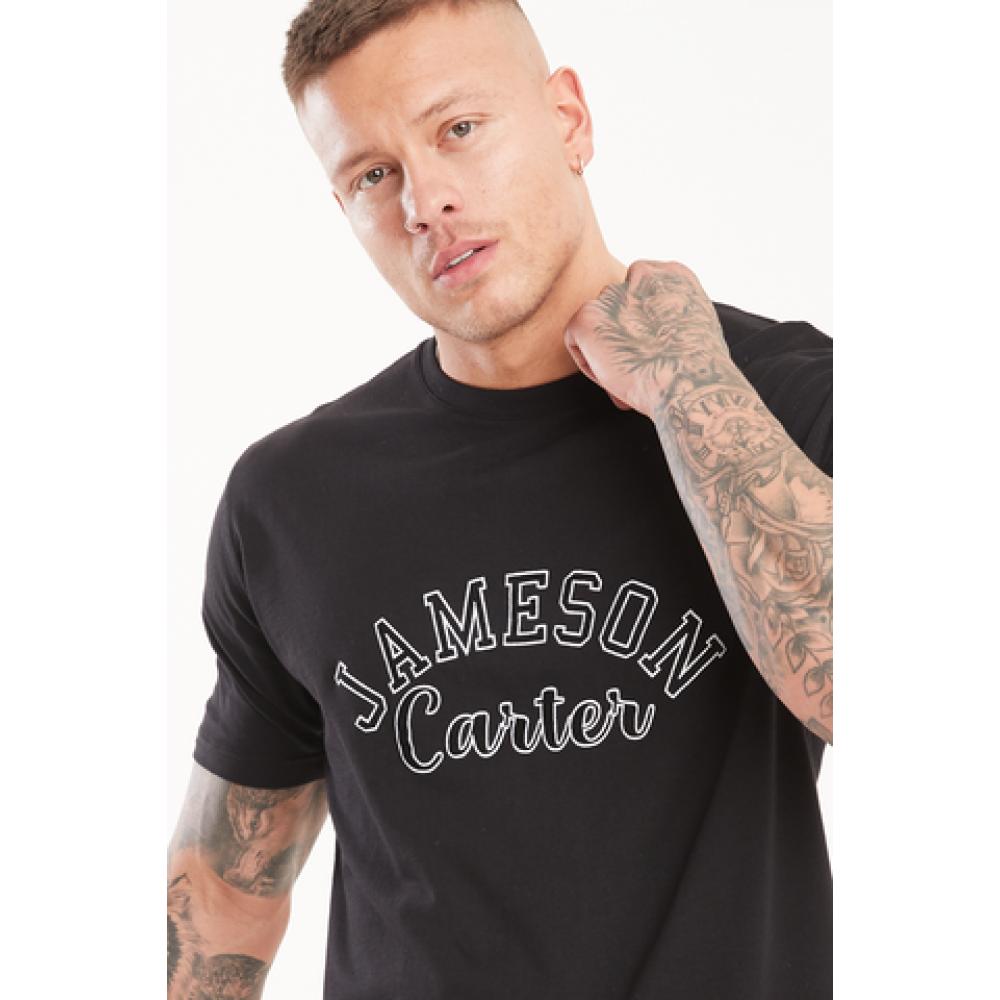 Jameson Carter Barts T-Shirt - Black