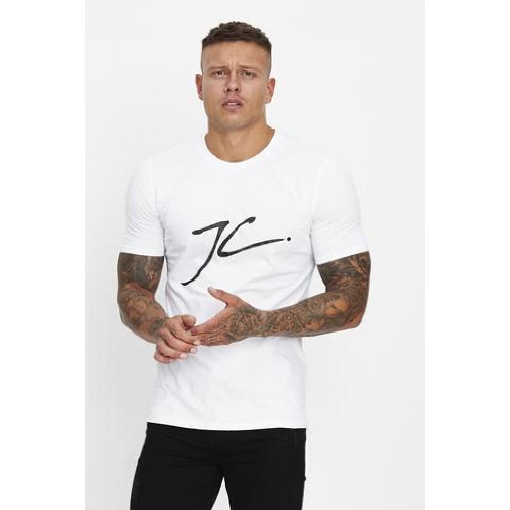 Jameson Carter Large JC T-Shirt - White