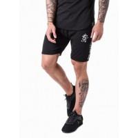 Gym King Taped Jersey Shorts - Black
