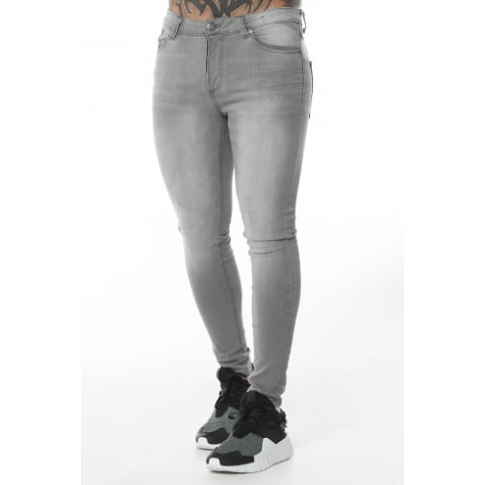 11 Degrees Essential Skinny Jeans - Charcoal Grey