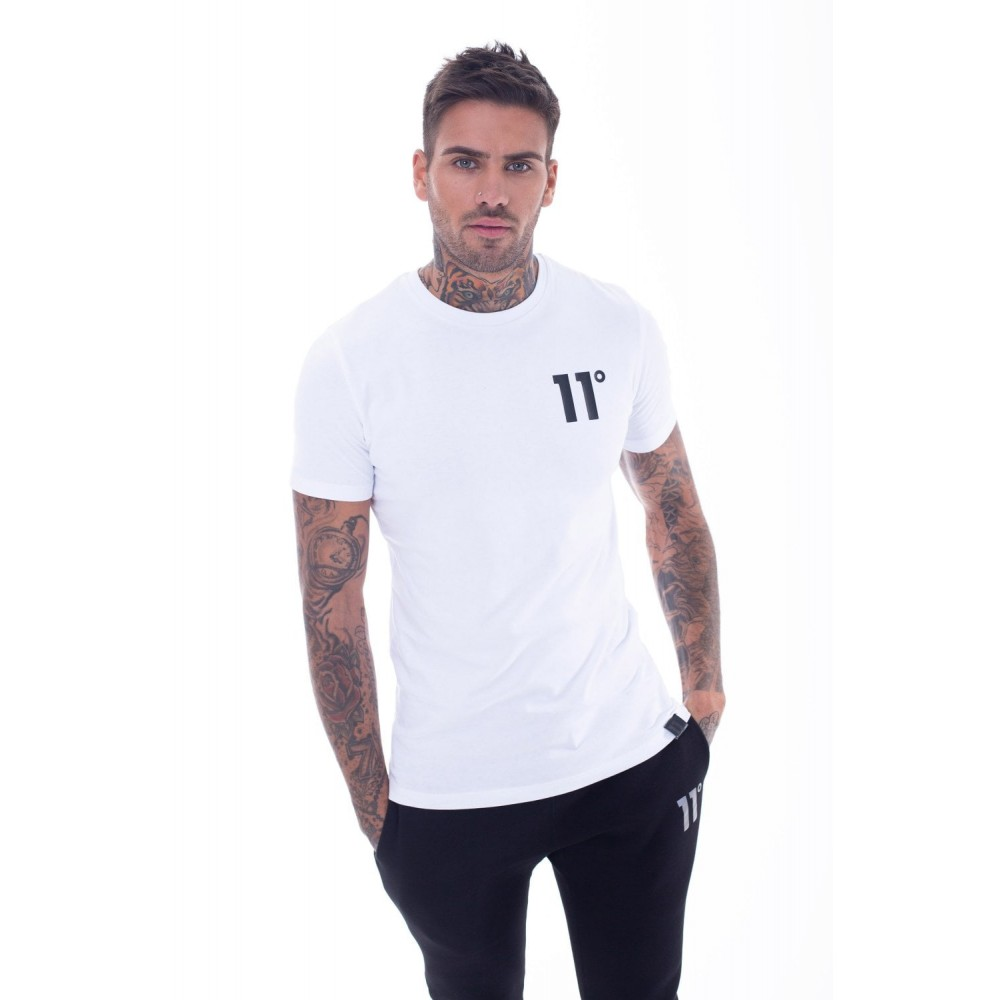 11 Degrees Core T-Shirt - White