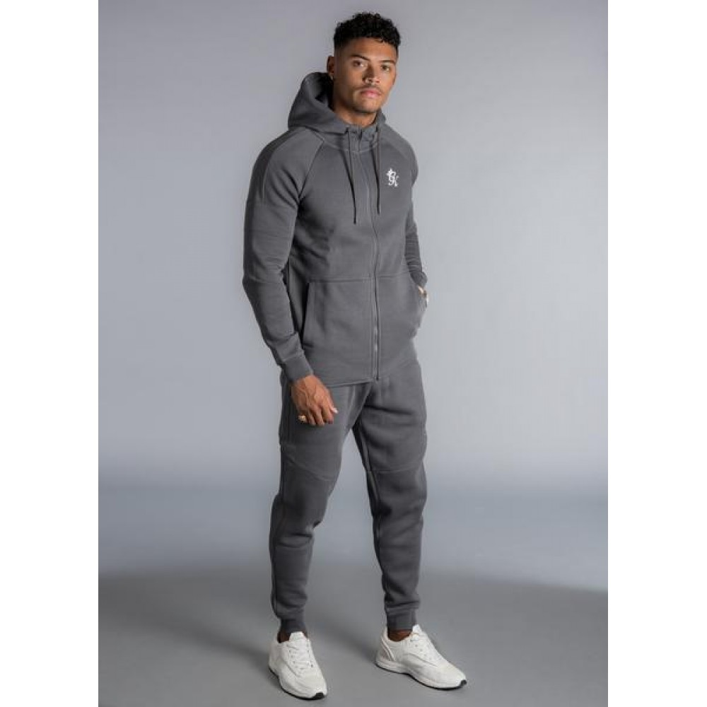 Gym King Core Plus Tracksuit Bottoms - Dark Grey