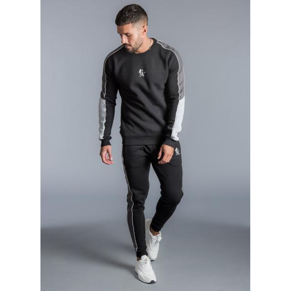 Gym King Gotti Crew Sweatshirt - Black
