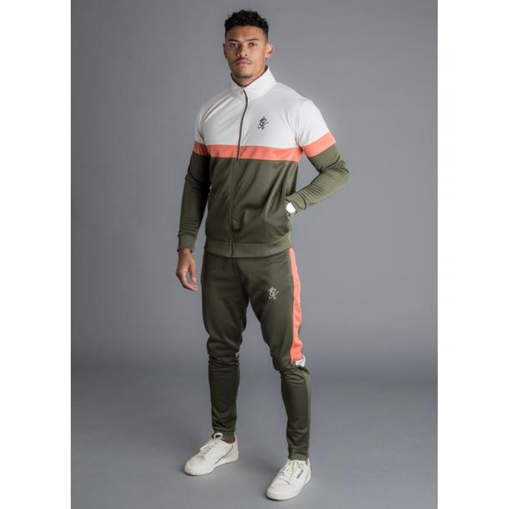 Gym King Gazza Track Top - Khaki