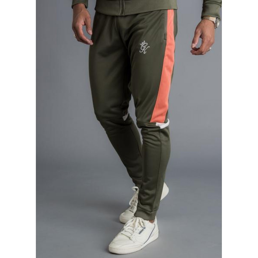 Gym King Gazza Track Pant - Khaki