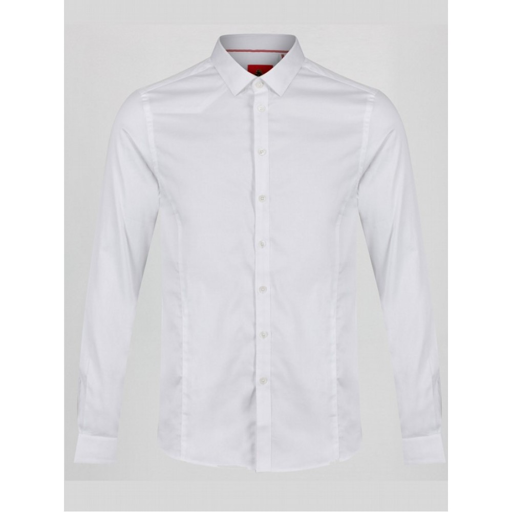 Luke 1977 Butchers Pencil 2 Shirt - White