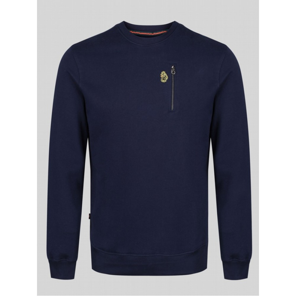 Luke 1977 Paris 2 Sweatshirt - Navy