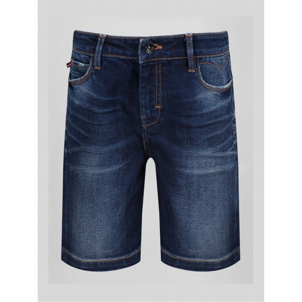 Luke Nimed Denim Shorts