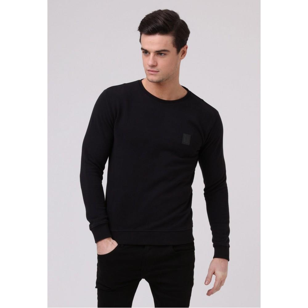 Religion Badge Sweatshirt - Black