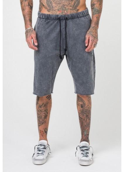 Religion Erosion Shorts - Washed Black