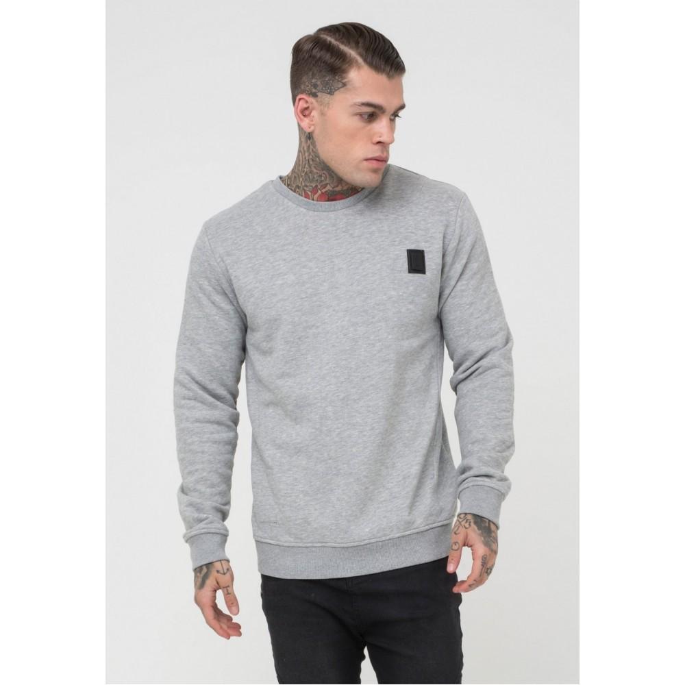 Religion Badge Sweatshirt - Grey
