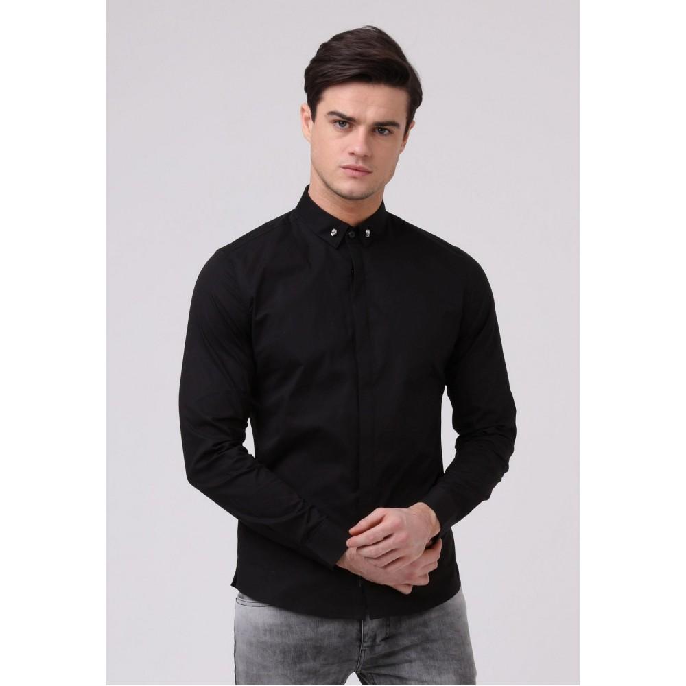 Religion Skull Black Shirt