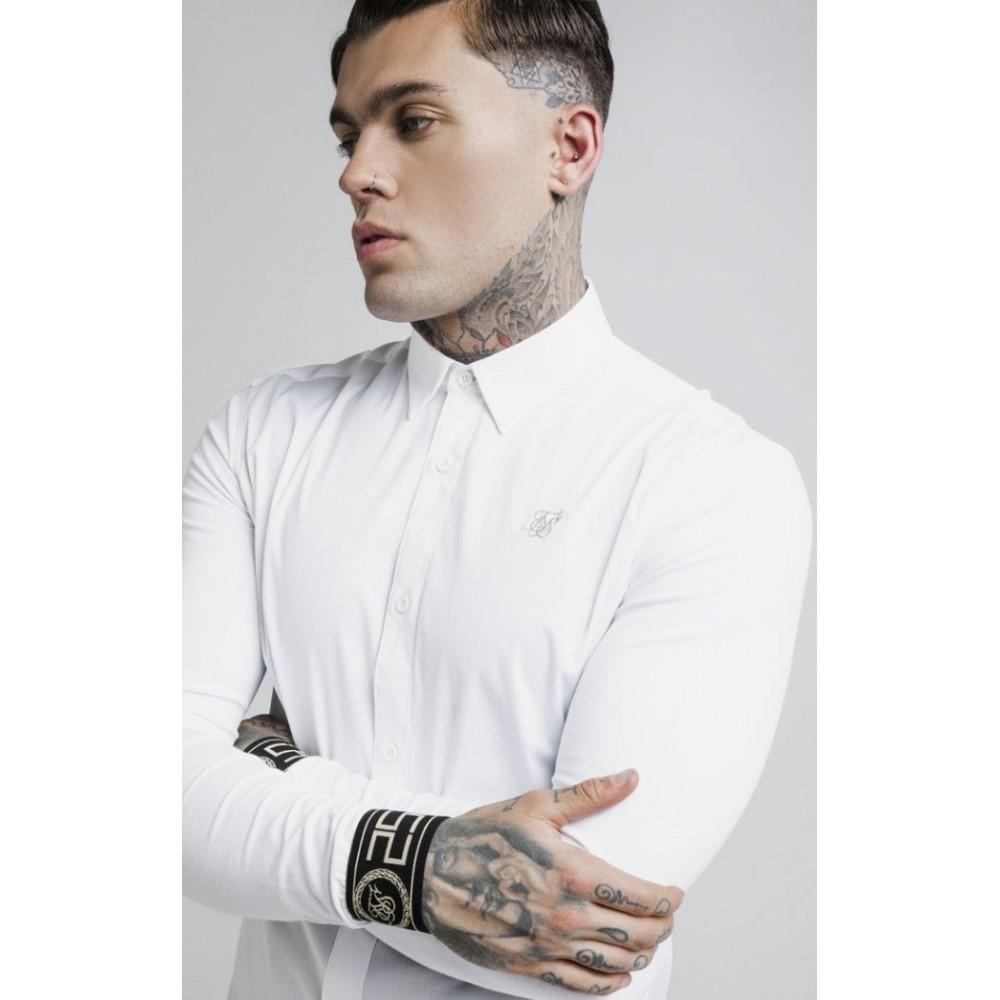 Siksilk Cartel Shirt - White & Gold