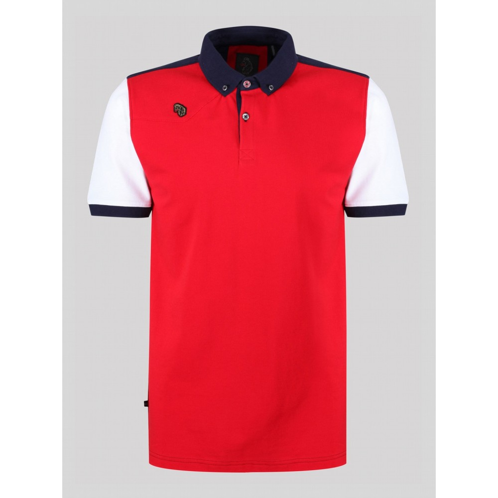 Luke 1977 Hampton Navy Polo Shirt