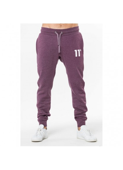 11 Degrees Core Jogger - Aubergine Marl