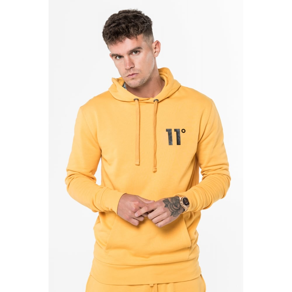 11 Degrees Core Pull Over Hoodie - Zest