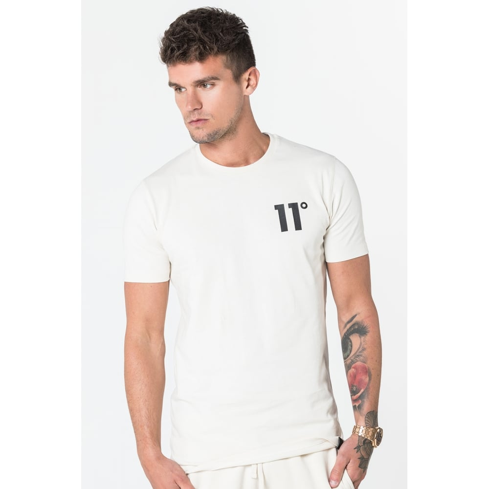 11 Degrees Core T-Shirt - Cream
