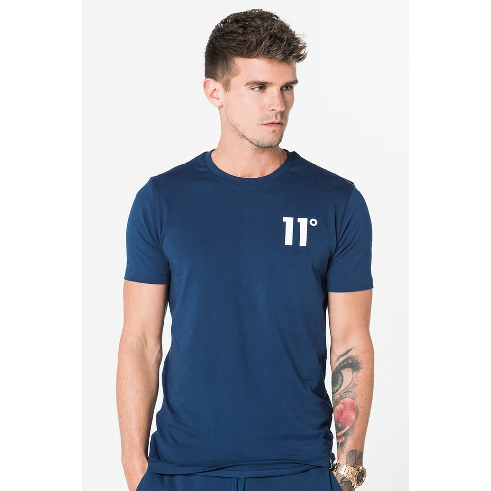 11 Degrees Core T-Shirt - Navy