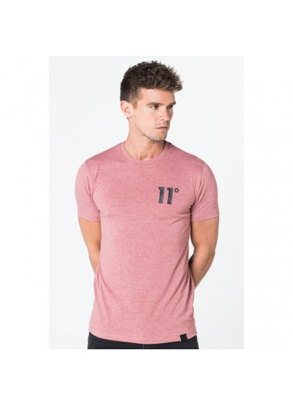 11 Degrees Core T-Shirt - Rust Marl