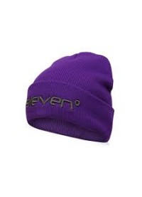 11 Degrees Bronx Beanie Hat - Purple