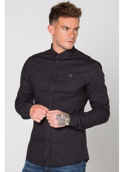 11 Degrees Long Sleeve Shirt - Black