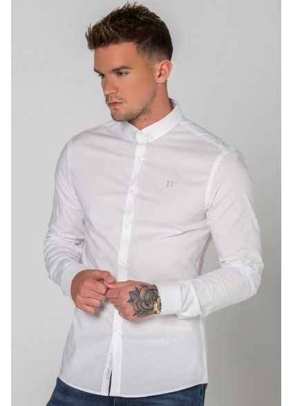 11 Degrees Long Sleeve Shirt - White