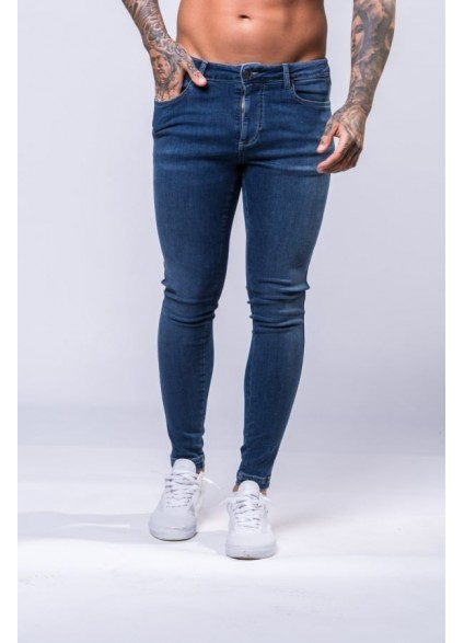 11 Degrees Plain Skinny Jeans - Indigo