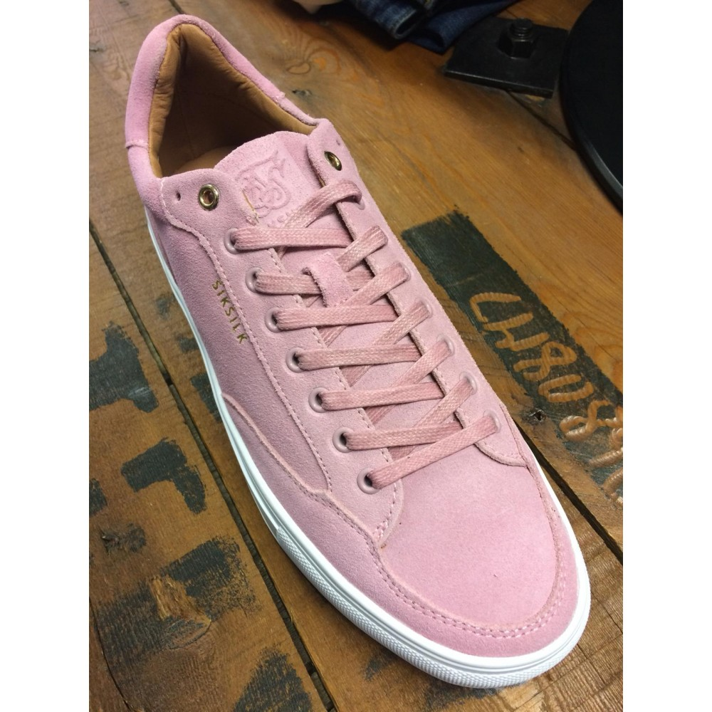 SikSilk Phantom Trainers - Pink Suede