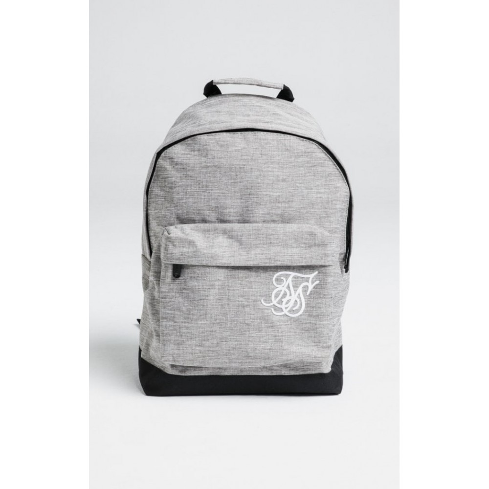 SikSilk Pouch Backpack – Grey Marl