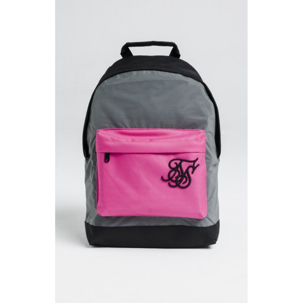 SikSilk Pouch Backpack – Reflective Pink