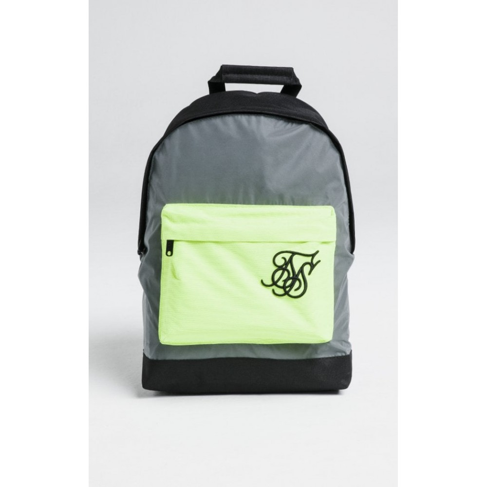 SikSilk Pouch Backpack – Reflective Yellow