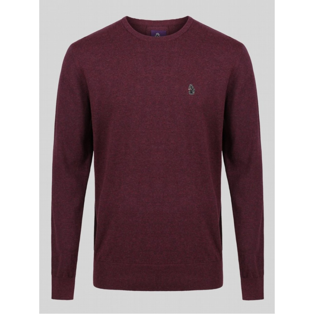 Luke 1977 Stevie Crew Neck Jumper