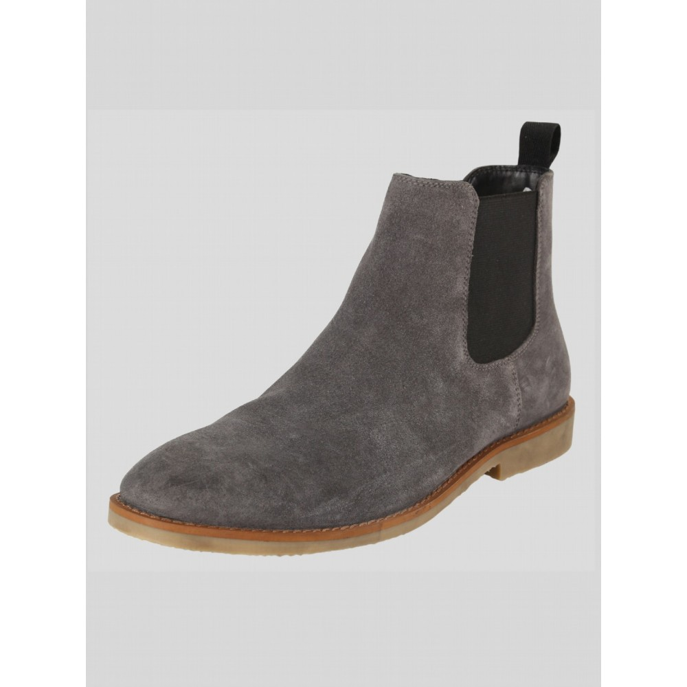 Luke 1977 Biggar Chelsea Boot - Grey