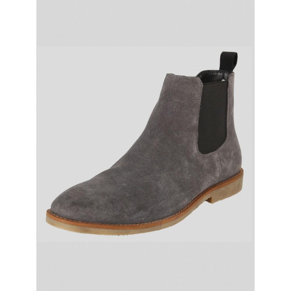 Luke 1977 Biggar Grey Chelsea Boots