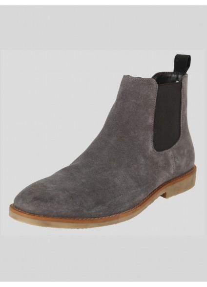 Luke 1977 Biggar Chelsea Boot - Grey