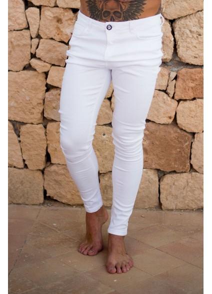 Sinners Attire White Super Spray On Jeans