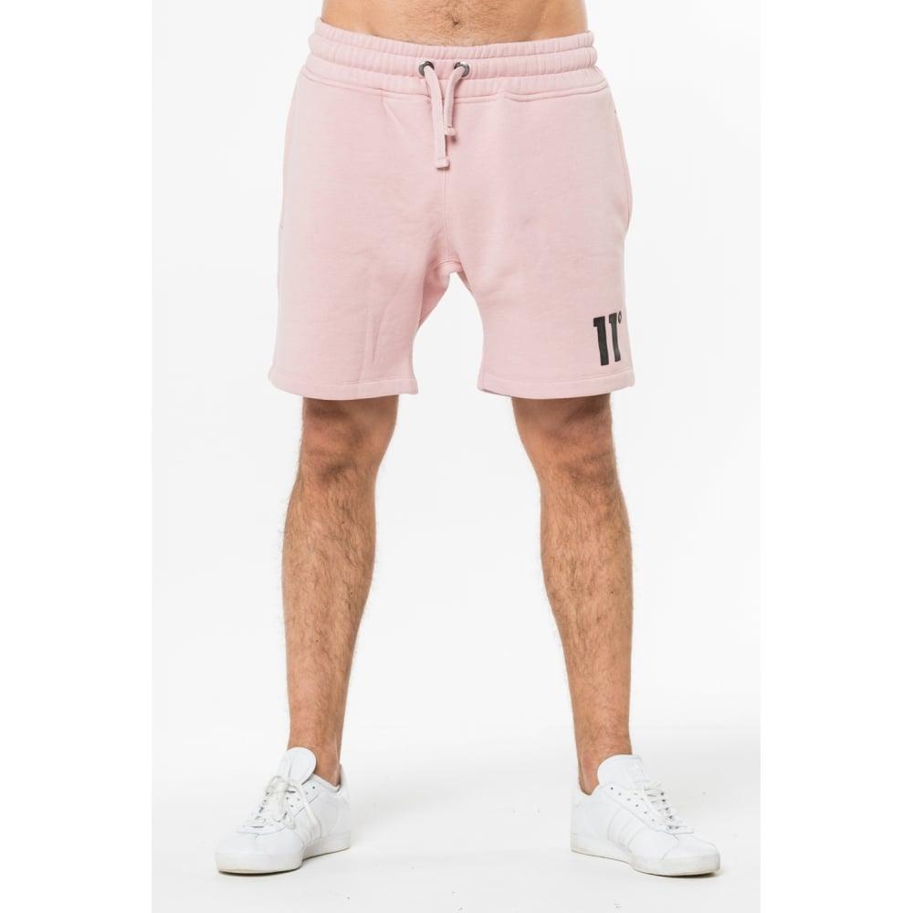 11 Degrees Core Sweat Shorts - Rose Marl