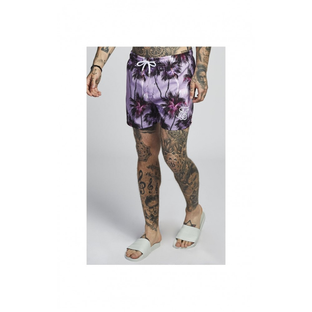 SikSilk Palm Rework Shorts – Deep Lilac