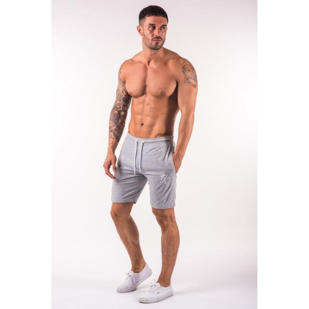 Gym King Jersey Shorts - Grey