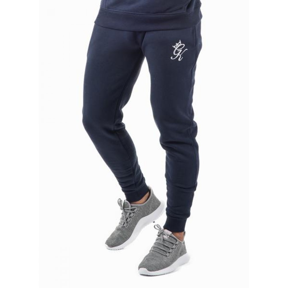 Gym King Tracksuit Bottoms - Navy Nights