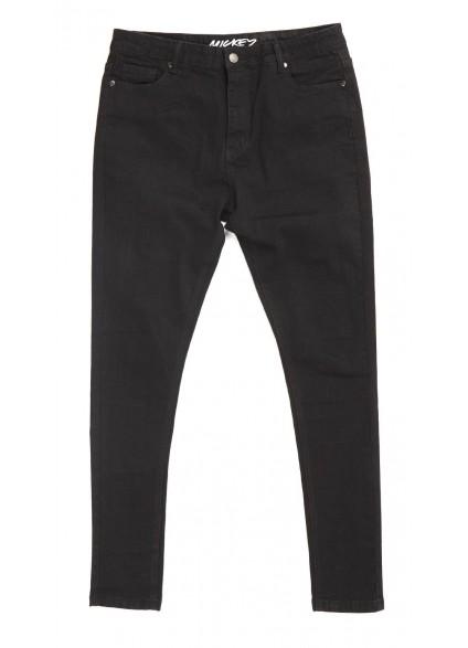Always Rare Black Mickey Jeans