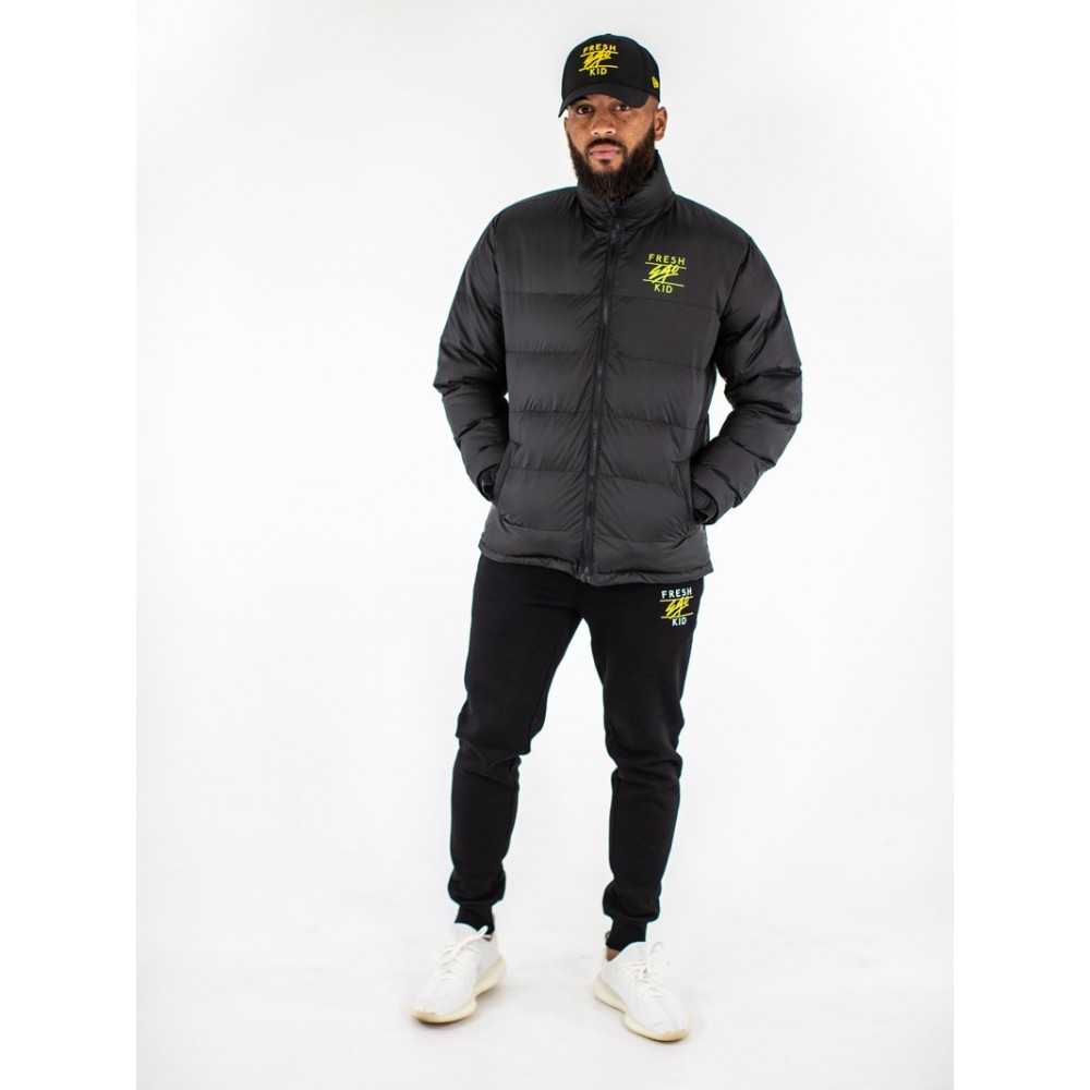 Fresh Ego Kid Black Puffer Jacket