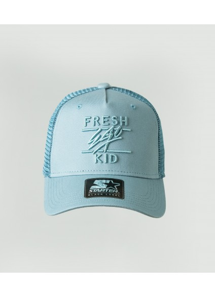 Fresh Ego Kid Baby Blue Mesh Trucker Cap