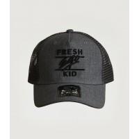 Fresh Ego Kid Charcoal / Black Mesh Trucker Cap