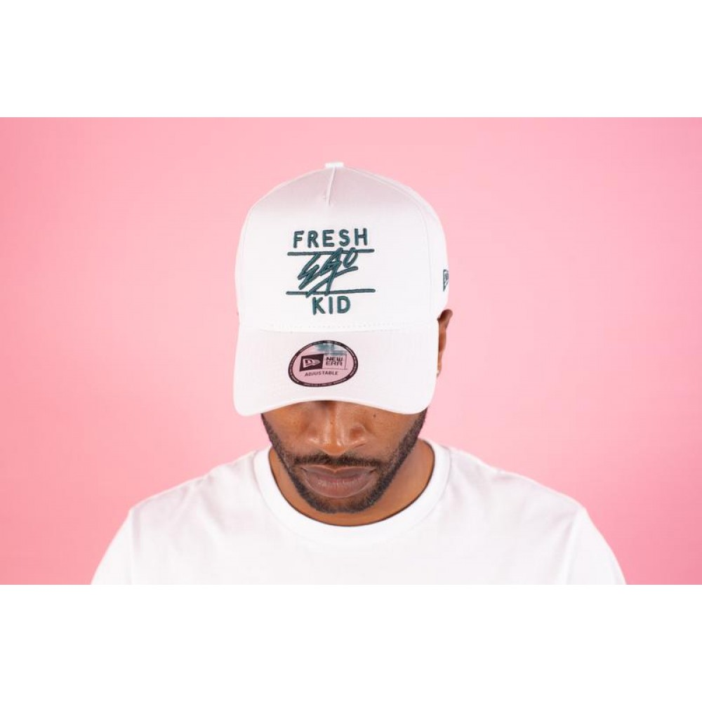 Fresh Ego Kid x New Era Cap - White / Green